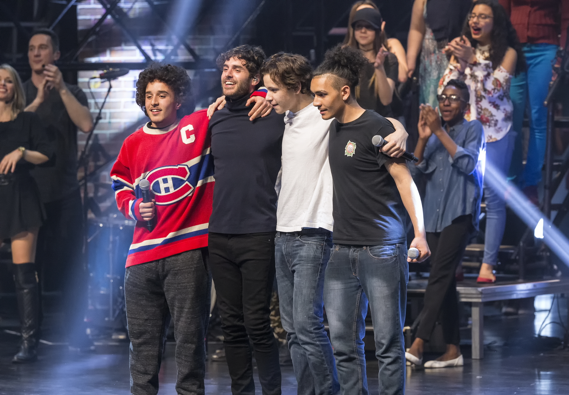 On May 12, our kids will rock the Place des Arts with  Marc Dupré, La Bronze, Ludovick Bourgeois, Travis Cormier and Margau!