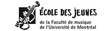 L'École des jeunes was created in 1993 by the Faculty of Music of the University of Montreal. Since then, its mandate is to offer children and adolescents from ages 3 to 17 a complete and stimulating musical training in the form of extracurricular activit